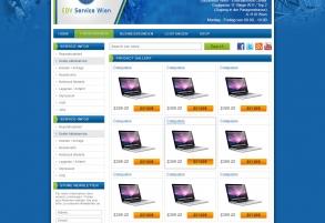 Ebay Templatedesign für EDV Service Wien