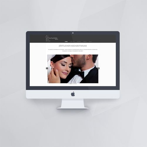 Webdesign - Webseite für Hochzeitsfoto Wien mit WordPress