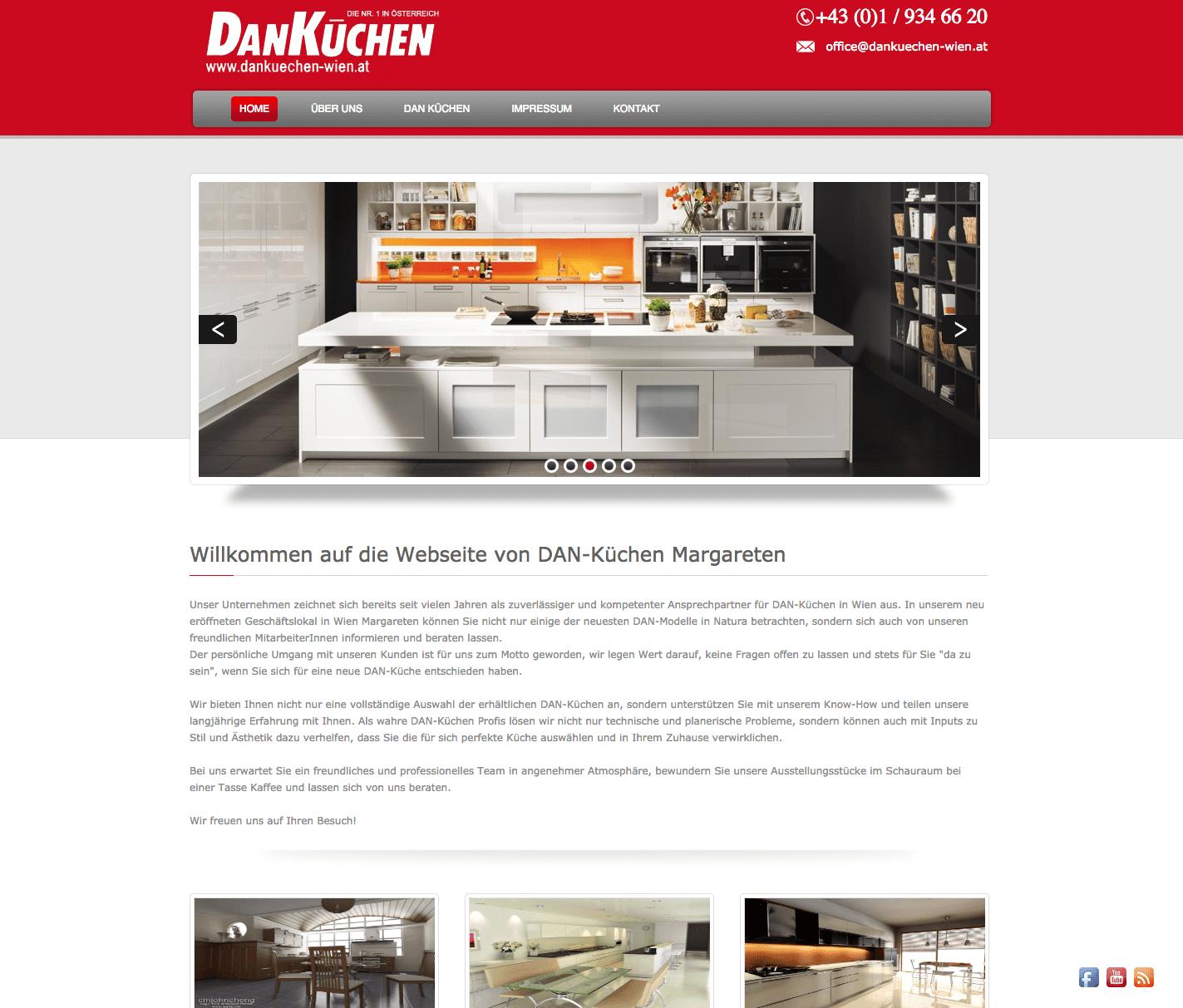 Homepage Webdesign Wien
