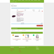 Onlineshop Gutes der Welt - Warenkorb