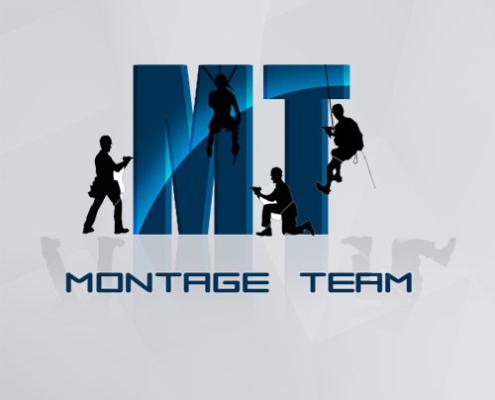 Logo Montage Team